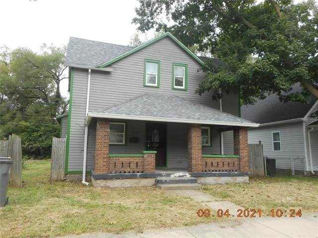 1138 N Warman Avenue, Indianapolis, IN 46222 (MLS #21811465) :: The Indy Property Source