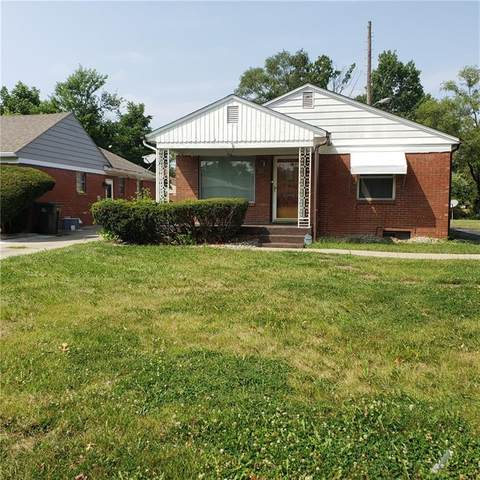 4734 E 34th Street, Indianapolis, IN 46218 (MLS #21811522) :: Pennington Realty Team