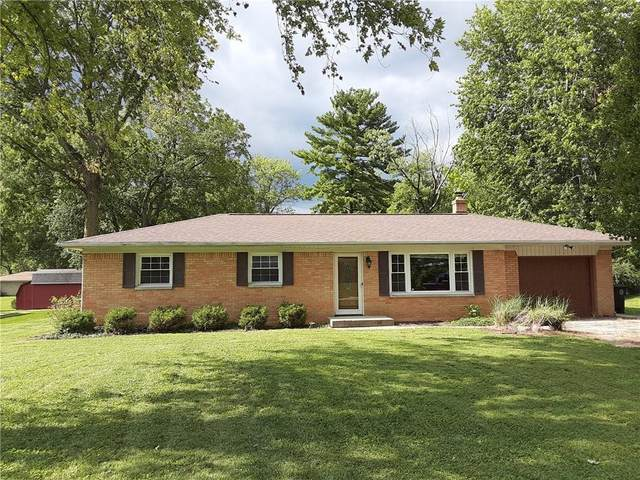 11650 Indian Creek Road, Indianapolis, IN 46236 (MLS #21811541) :: The Indy Property Source