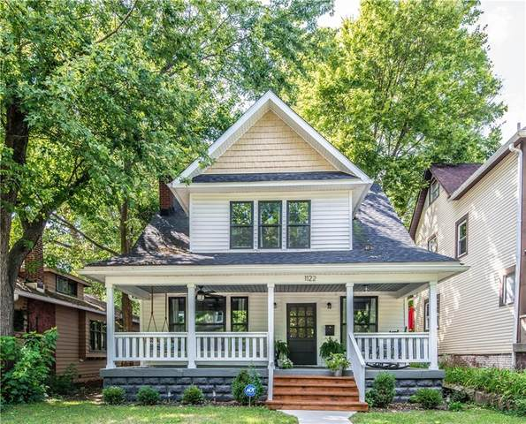 1122 Newman Street, Indianapolis, IN 46201 (MLS #21811579) :: AR/haus Group Realty