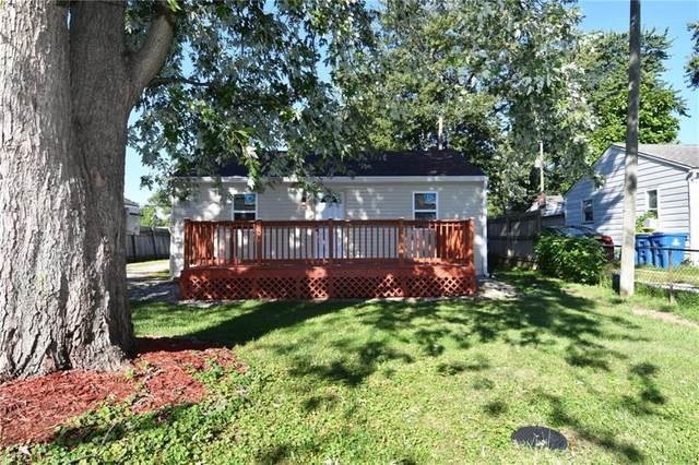 4226 S Lynhurst Drive, Indianapolis, IN 46221 (MLS #21811580) :: Pennington Realty Team