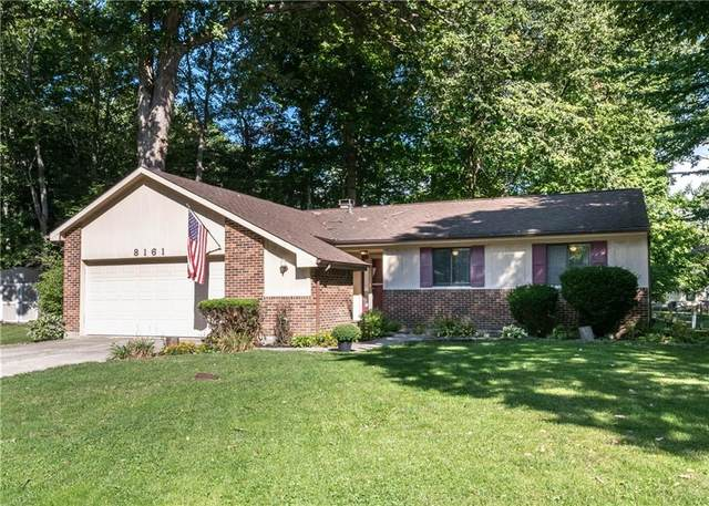 8161 Ashwood Court, Indianapolis, IN 46268 (MLS #21811612) :: Richwine Elite Group