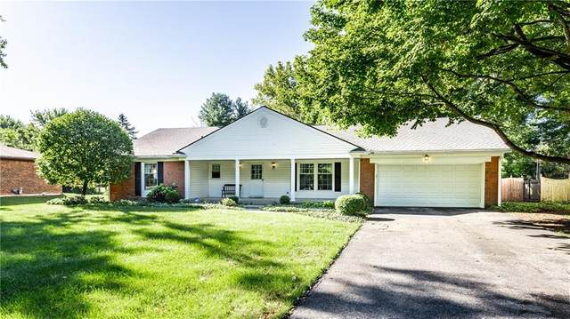 1131 W 73rd Street, Indianapolis, IN 46260 (MLS #21811773) :: Mike Price Realty Team - RE/MAX Centerstone