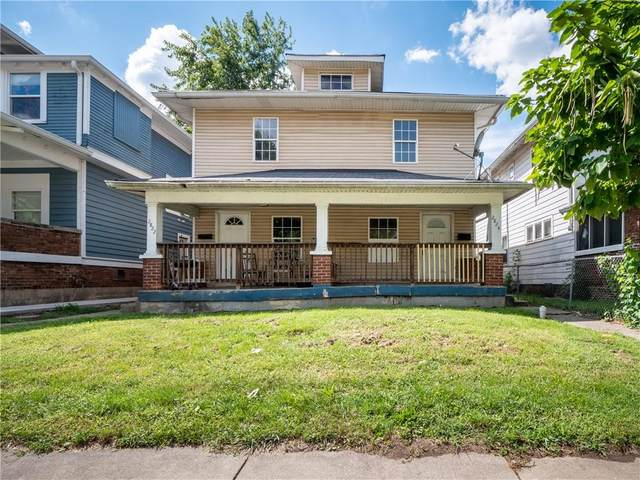 2822-2824 N Park Avenue, Indianapolis, IN 46205 (MLS #21811916) :: The Indy Property Source