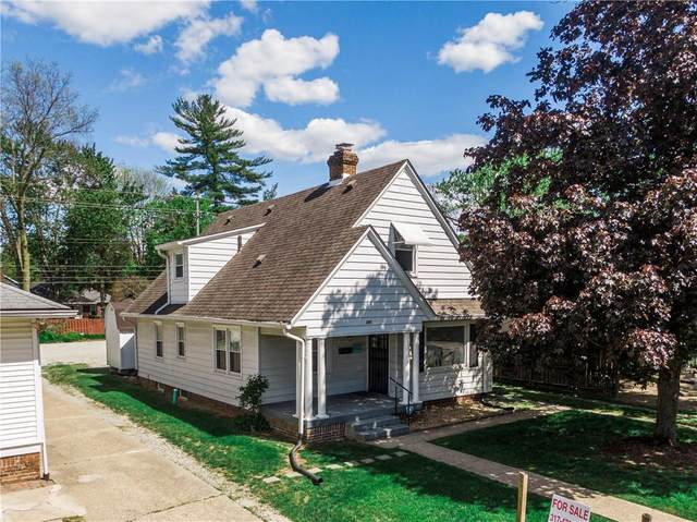 6161 N College Avenue, Indianapolis, IN 46220 (MLS #21812026) :: Mike Price Realty Team - RE/MAX Centerstone