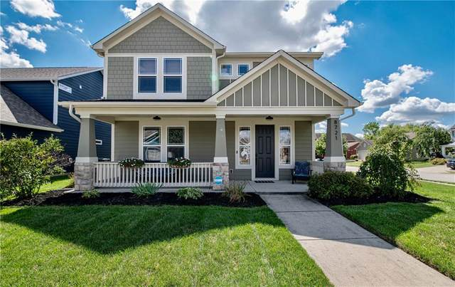 8721 Kipling Drive, Indianapolis, IN 46239 (MLS #21812071) :: The Indy Property Source