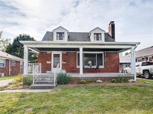 1432 N Downey Avenue, Indianapolis, IN 46219 (MLS #21812092) :: Mike Price Realty Team - RE/MAX Centerstone