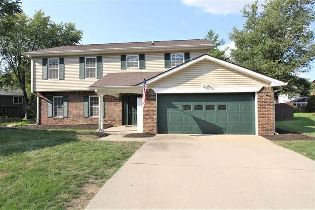 203 Kinser Court, Fishers, IN 46038 (MLS #21812097) :: Mike Price Realty Team - RE/MAX Centerstone