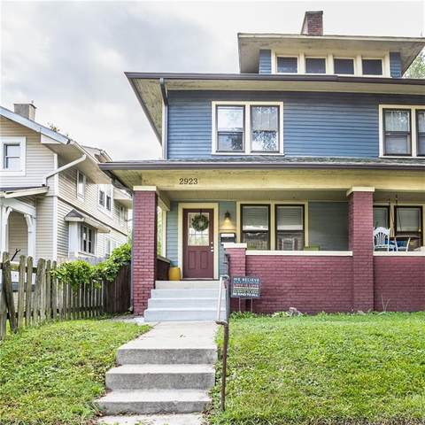 2923 Washington Boulevard, Indianapolis, IN 46205 (MLS #21812151) :: Mike Price Realty Team - RE/MAX Centerstone
