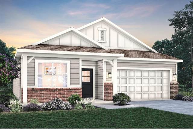 2597 Grassy Branch Drive, Whitestown, IN 46075 (MLS #21812195) :: The Indy Property Source