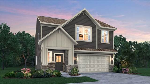 2585 Grassy Branch Drive, Whitestown, IN 46075 (MLS #21812199) :: The Indy Property Source
