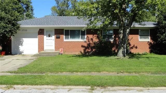 1722 Hawthorne Drive, Plainfield, IN 46168 (MLS #21812264) :: Dean Wagner Realtors