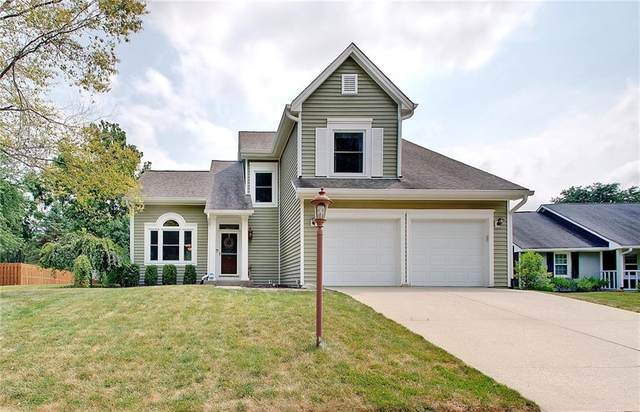 7809 Dawson Drive, Fishers, IN 46038 (MLS #21812337) :: Mike Price Realty Team - RE/MAX Centerstone
