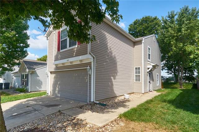 482 Harmony Drive, Greenwood, IN 46143 (MLS #21812349) :: Richwine Elite Group