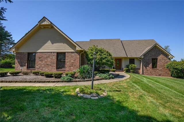 3666 Saddle Club Road, Greenwood, IN 46143 (MLS #21812366) :: Mike Price Realty Team - RE/MAX Centerstone