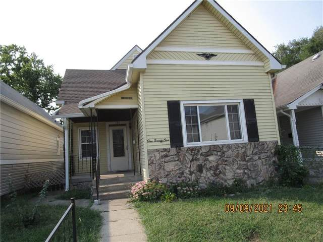 121 W Arizona Street, Indianapolis, IN 46225 (MLS #21812383) :: Mike Price Realty Team - RE/MAX Centerstone