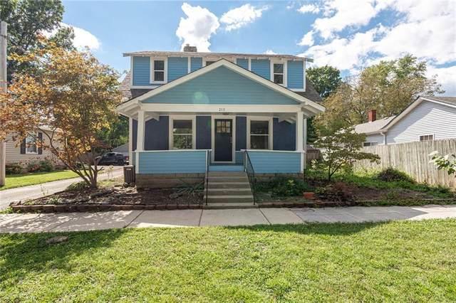 210 S Vine Street, Plainfield, IN 46168 (MLS #21812430) :: Ferris Property Group