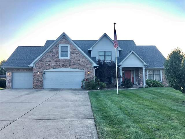 1368 Broken Arrow Drive, New Palestine, IN 46163 (MLS #21812449) :: Mike Price Realty Team - RE/MAX Centerstone