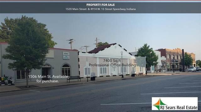 1520 Main Street, Speedway, IN 46224 (MLS #21812524) :: David Brenton's Team
