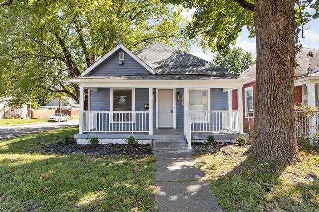 1369 N Olney Street, Indianapolis, IN 46201 (MLS #21812541) :: The Evelo Team