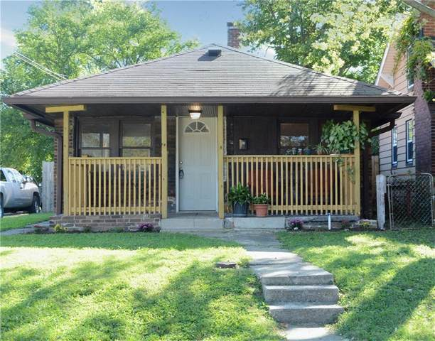 825 N Bosart Avenue, Indianapolis, IN 46201 (MLS #21812629) :: Mike Price Realty Team - RE/MAX Centerstone