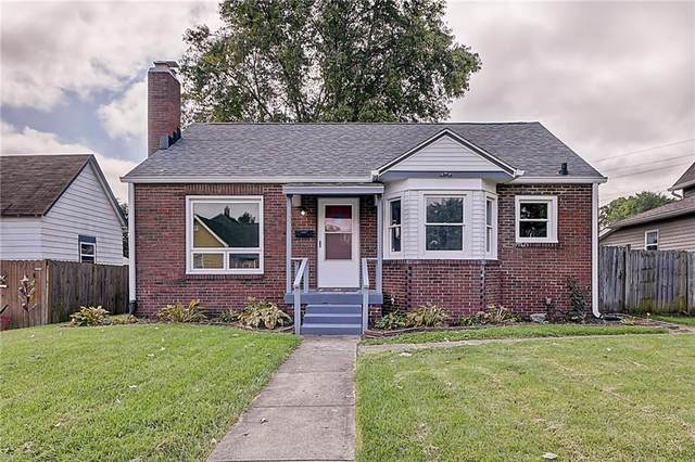 1027 E Castle Avenue, Indianapolis, IN 46227 (MLS #21812747) :: Heard Real Estate Team | eXp Realty, LLC