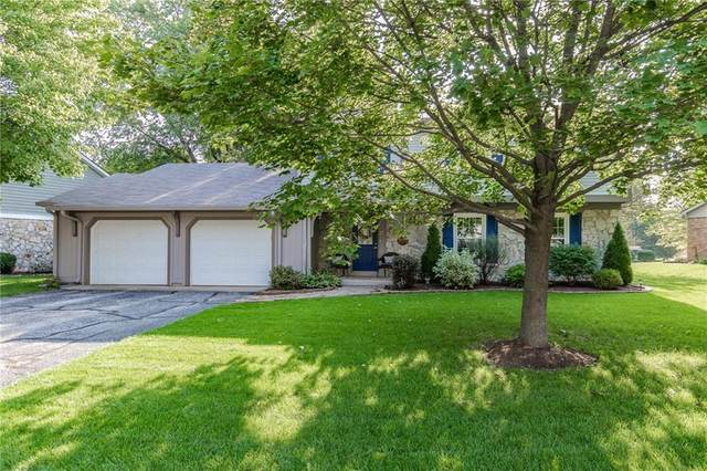 12947 Wembly Road, Carmel, IN 46033 (MLS #21812774) :: Mike Price Realty Team - RE/MAX Centerstone