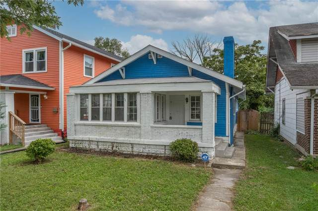 815 N Grant Avenue, Indianapolis, IN 46201 (MLS #21812781) :: The Evelo Team