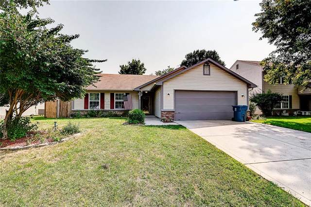 1521 Country Pointe Drive, Indianapolis, IN 46234 (MLS #21812810) :: The Evelo Team