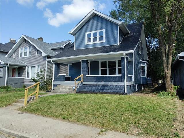 543 N Gray Street, Indianapolis, IN 46201 (MLS #21812824) :: Mike Price Realty Team - RE/MAX Centerstone