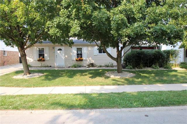 1204 Fairview Drive, Greenfield, IN 46140 (MLS #21812828) :: The Evelo Team