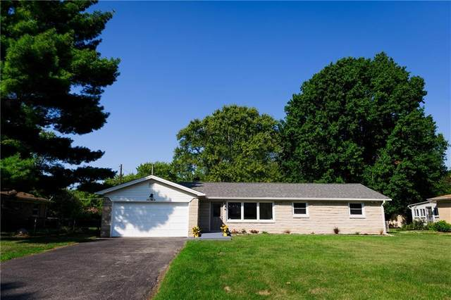 6056 Woodside Drive, Indianapolis, IN 46228 (MLS #21812846) :: The Evelo Team