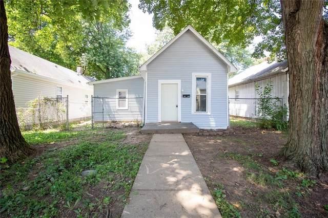 418 Leeds Avenue, Indianapolis, IN 46201 (MLS #21812849) :: Ferris Property Group