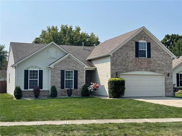 4563 W Woodtrail Court, New Palestine, IN 46163 (MLS #21812930) :: Mike Price Realty Team - RE/MAX Centerstone