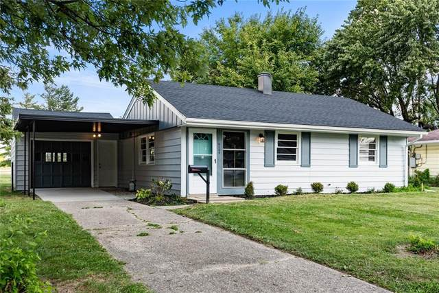 8160 Patton Drive, Lawrence, IN 46226 (MLS #21812944) :: Richwine Elite Group