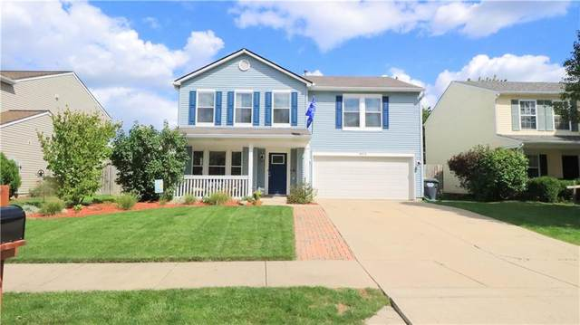 8376 S Shady Trail Drive, Pendleton, IN 46064 (MLS #21812949) :: Pennington Realty Team