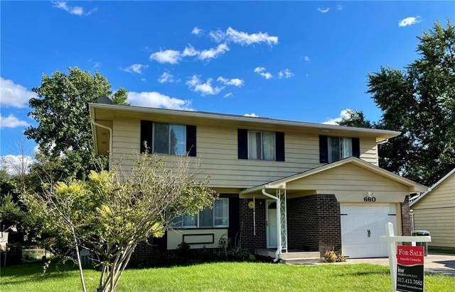 660 Holiday Drive, Fortville, IN 46040 (MLS #21813073) :: The Evelo Team