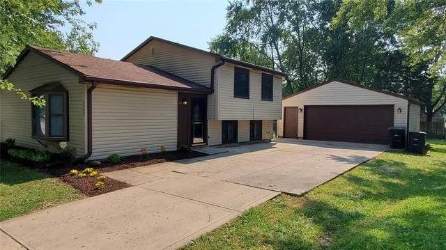 4502 Kingsboro Drive, Indianapolis, IN 46235 (MLS #21813186) :: The Indy Property Source