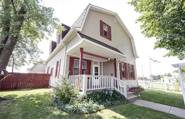 1115 W North Street, Greenfield, IN 46140 (MLS #21813214) :: The Indy Property Source