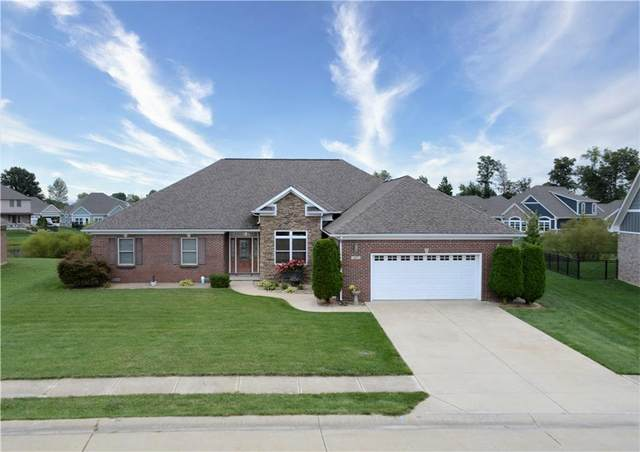 1077 Forest Glen Drive, Greenfield, IN 46140 (MLS #21813228) :: Mike Price Realty Team - RE/MAX Centerstone