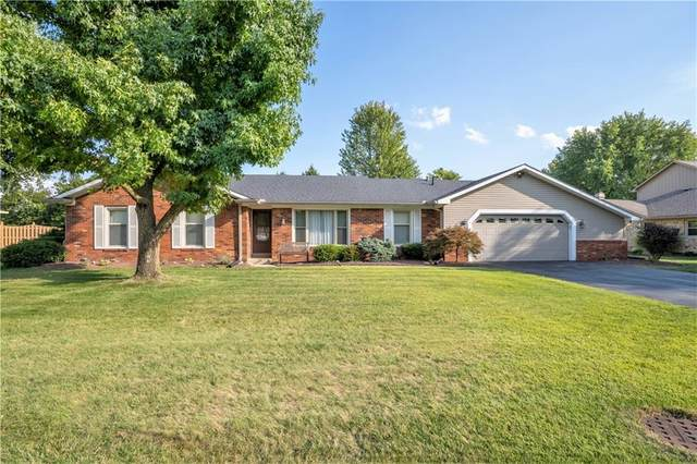 815 Green Meadow Drive, Greenwood, IN 46143 (MLS #21813287) :: The Evelo Team