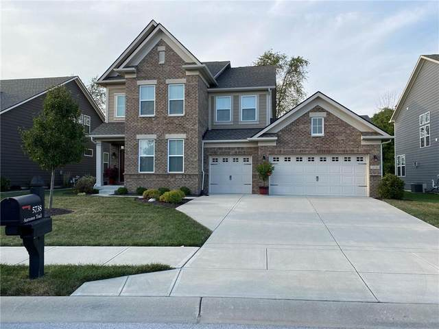 5738 Autumn Trail, Brownsburg, IN 46112 (MLS #21813361) :: Mike Price Realty Team - RE/MAX Centerstone