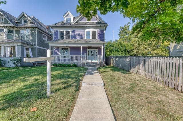 2206 N Capitol Avenue, Indianapolis, IN 46202 (MLS #21813372) :: Ferris Property Group