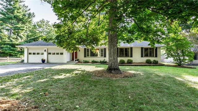 8623 Manderley Drive, Indianapolis, IN 46240 (MLS #21813517) :: Mike Price Realty Team - RE/MAX Centerstone