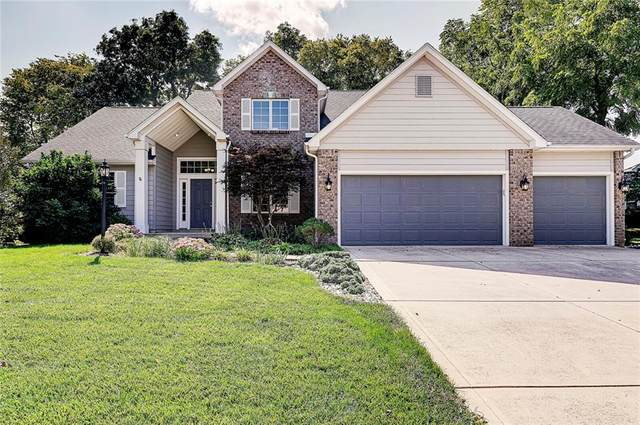 6815 Carters Grove Drive, Noblesville, IN 46062 (MLS #21813587) :: Mike Price Realty Team - RE/MAX Centerstone