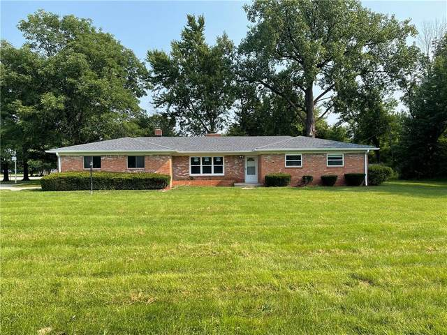 8601 N Washington Boulevard, Indianapolis, IN 46240 (MLS #21813590) :: The Indy Property Source