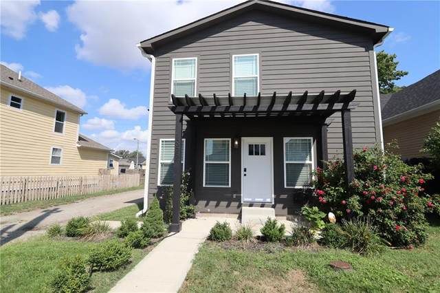 822 Lincoln Street, Indianapolis, IN 46203 (MLS #21813654) :: AR/haus Group Realty
