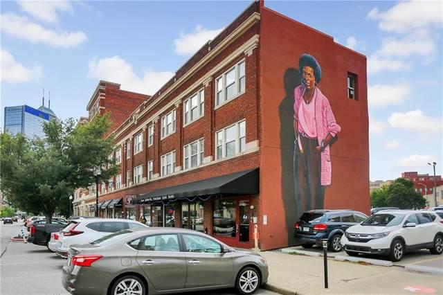 450 Massachusetts Avenue #204, Indianapolis, IN 46204 (MLS #21813848) :: JM Realty Associates, Inc.