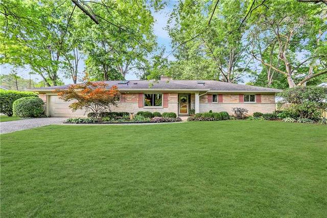 648 Holliday Lane, Indianapolis, IN 46260 (MLS #21813934) :: Mike Price Realty Team - RE/MAX Centerstone
