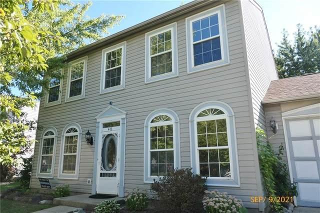 443 N Odell Street, Brownsburg, IN 46112 (MLS #21813962) :: Heard Real Estate Team | eXp Realty, LLC